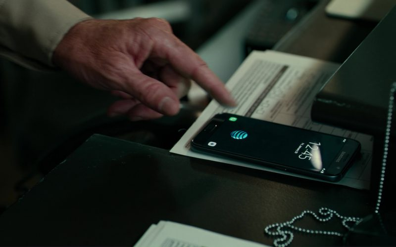 AT&T and Samsung Galaxy Phone in Justice League