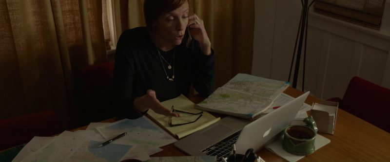 Apple MacBook Pro Used by Toni Collette in Please Stand By (2017) Movie Product Placement