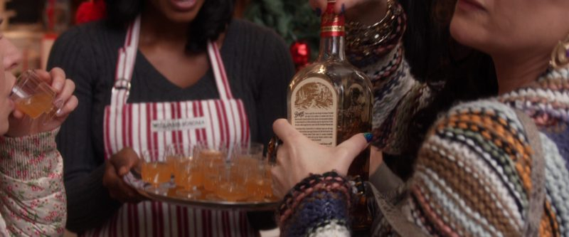 Bayou Spiced Rum and Kathryn Hahn in A Bad Moms Christmas (2017) Movie Product Placement