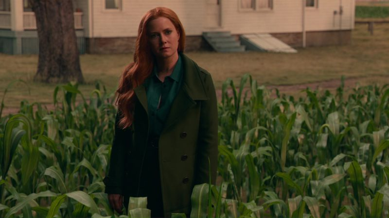 Burberry Trench Coat (Green) Worn by Amy Adams in Justice League (2017) Movie Product Placement