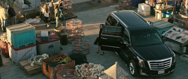 Cadillac Escalade Car Used by Cecilia Suárez in Overboard (2018) Movie Product Placement