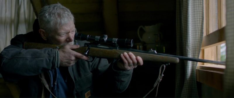 Carhartt Jacket Worn by Stephen Lang in Braven (2018) Movie Product Placement