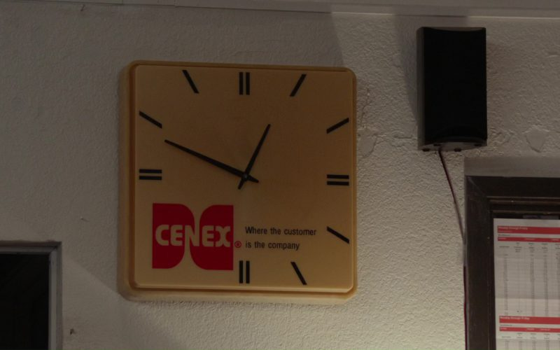 Cenex Clock in Please Stand By