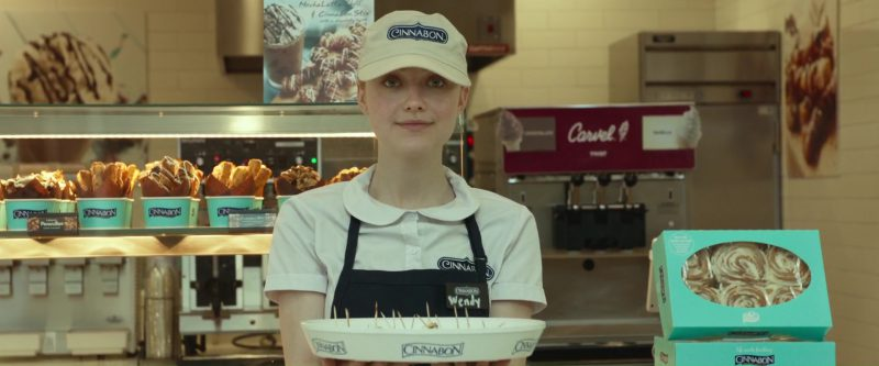 Cinnabon and Dakota Fanning in Please Stand By (2017) Movie Product Placement