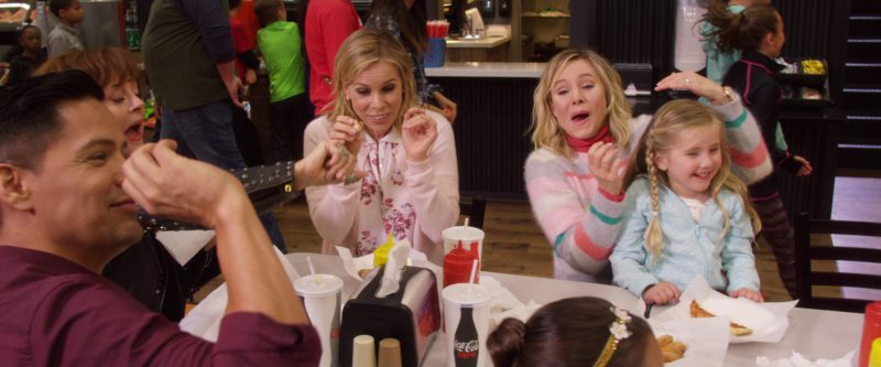 Coca-Cola And Coca-Cola Zero Paper Cups in A Bad Moms Christmas (2017) Movie Product Placement