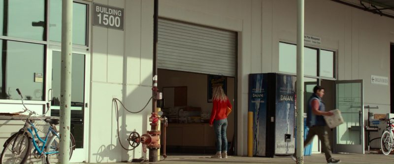 Dasani Mineral Water (Vending Machine) in Please Stand By (2017) Movie Product Placement