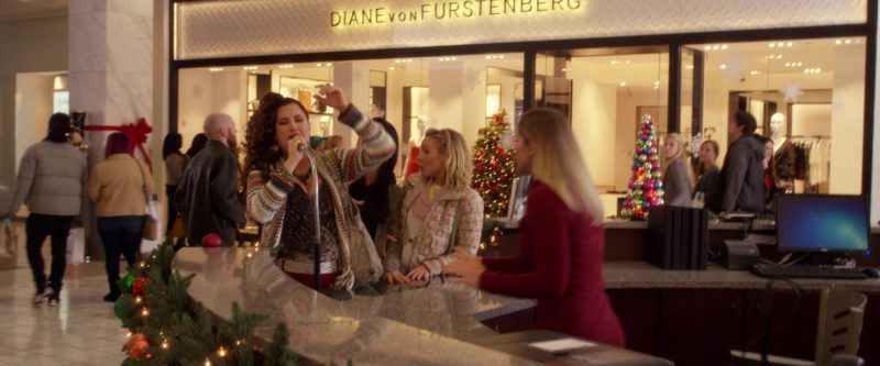 Diane von Furstenberg Store in A Bad Moms Christmas (2017) Movie Product Placement