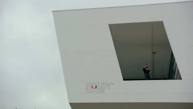 Donna E. Shalala Student Center (University of Miami) in God's Plan by Drake (2018) Official Music Video Product Placement