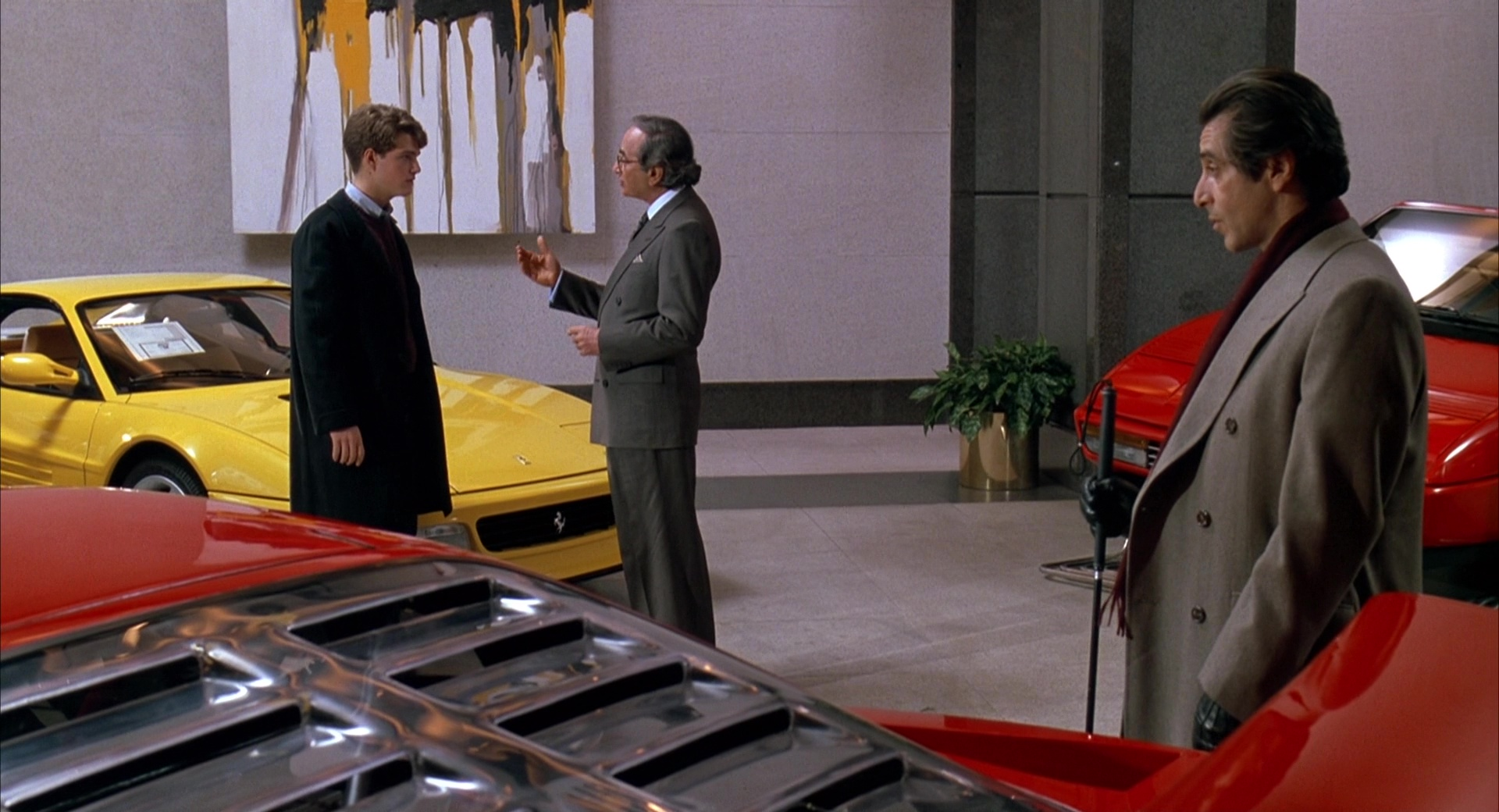 Ferrari Car Dealer Chris O Donnell And Al Pacino In Scent Of A Woman 1992