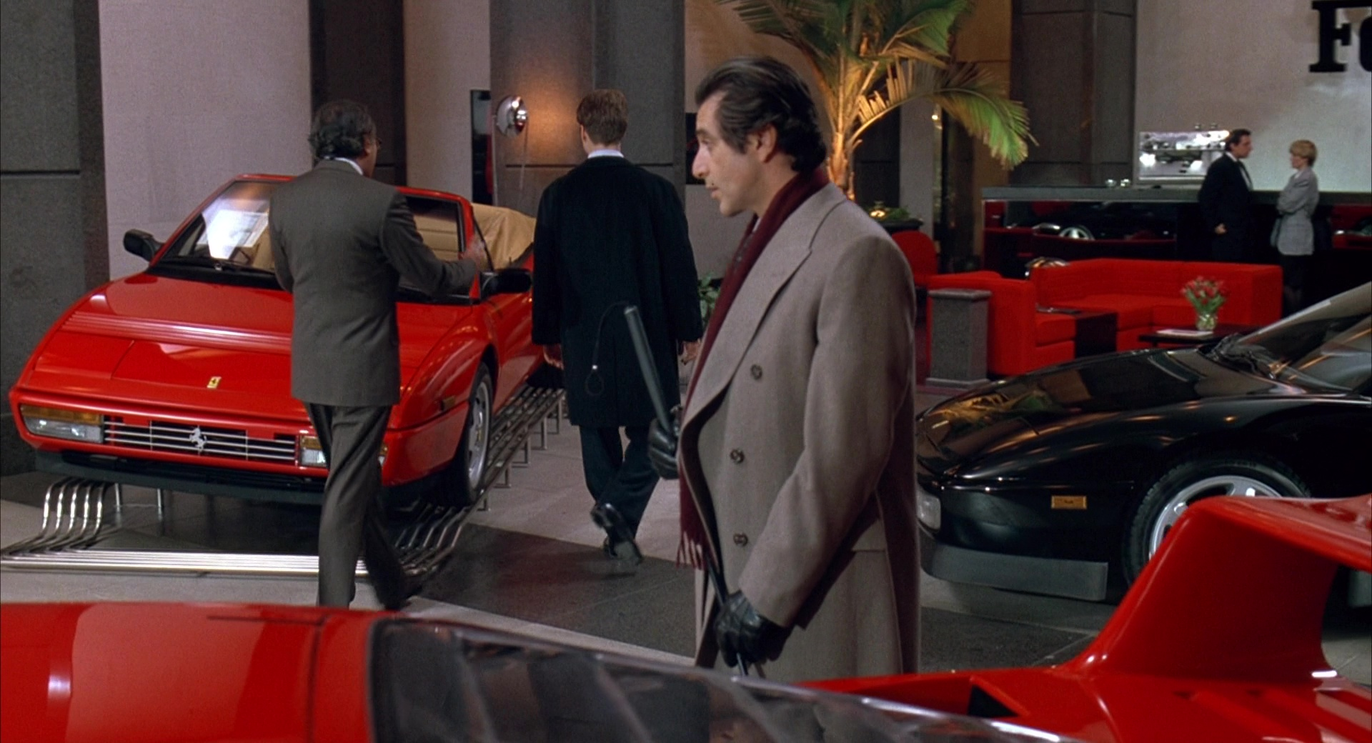 Ferrari Car Dealer Chris O Donnell And Al Pacino In Scent Of A Woman 1992 Movie Scenes