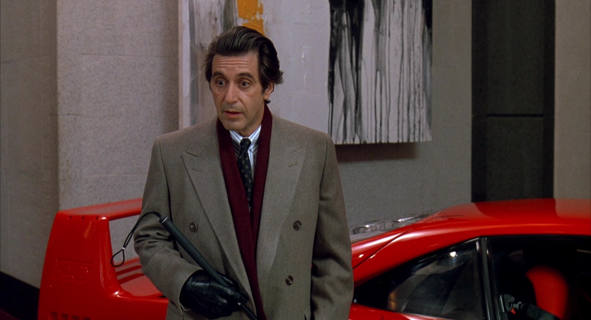 Exotic Car Brands >> Ferrari Car Dealer (Chris O'Donnell and Al Pacino) in Scent of a Woman (1992) Movie