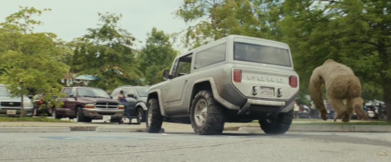 Ford Bronco Car Driven by Dwayne Johnson (The Rock) in ...