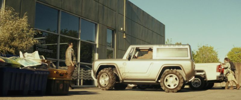 Ford Bronco Car Driven By Dwayne Johnson The Rock In