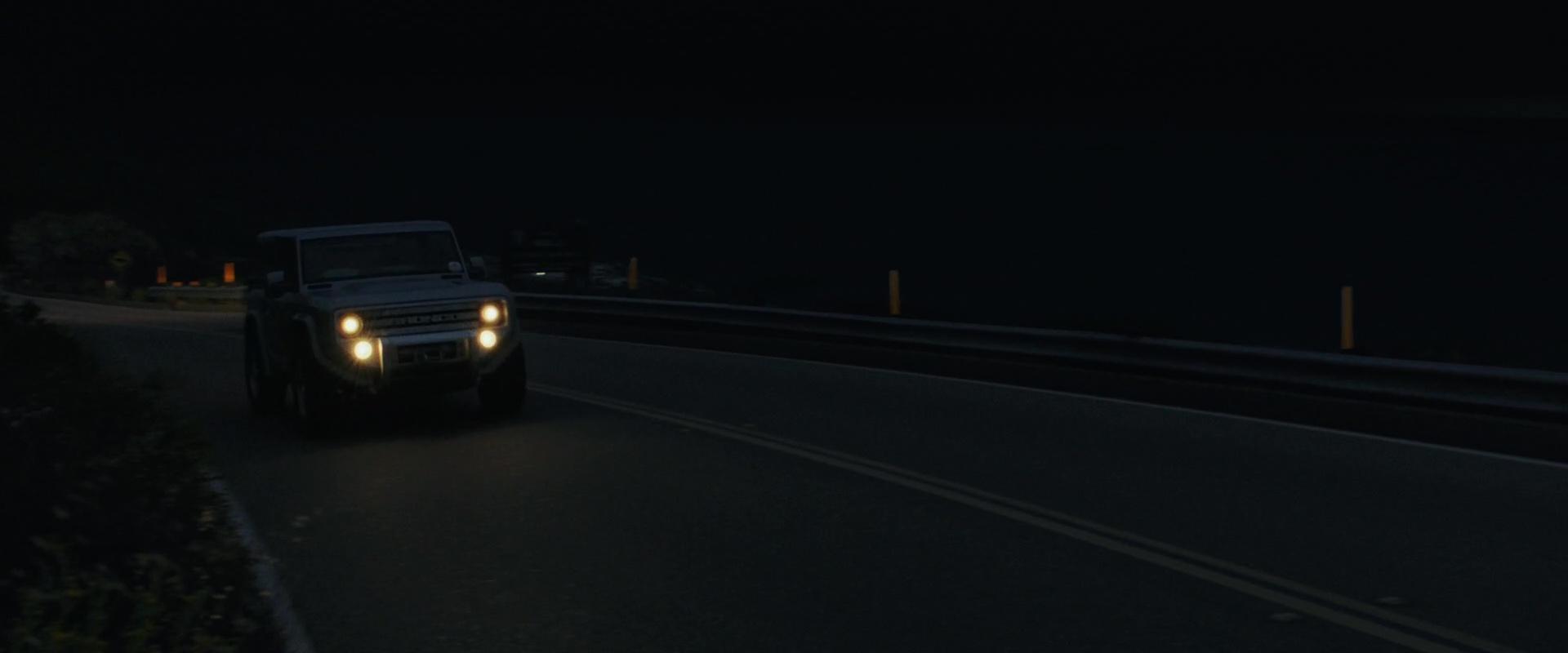 ford bronco car drivendwayne johnson (the rock) in
