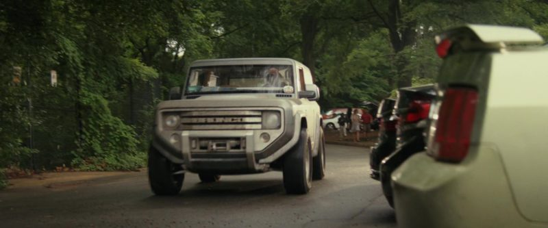 Ford Bronco Car Driven by Dwayne Johnson (The Rock) in Rampage (2018) Movie