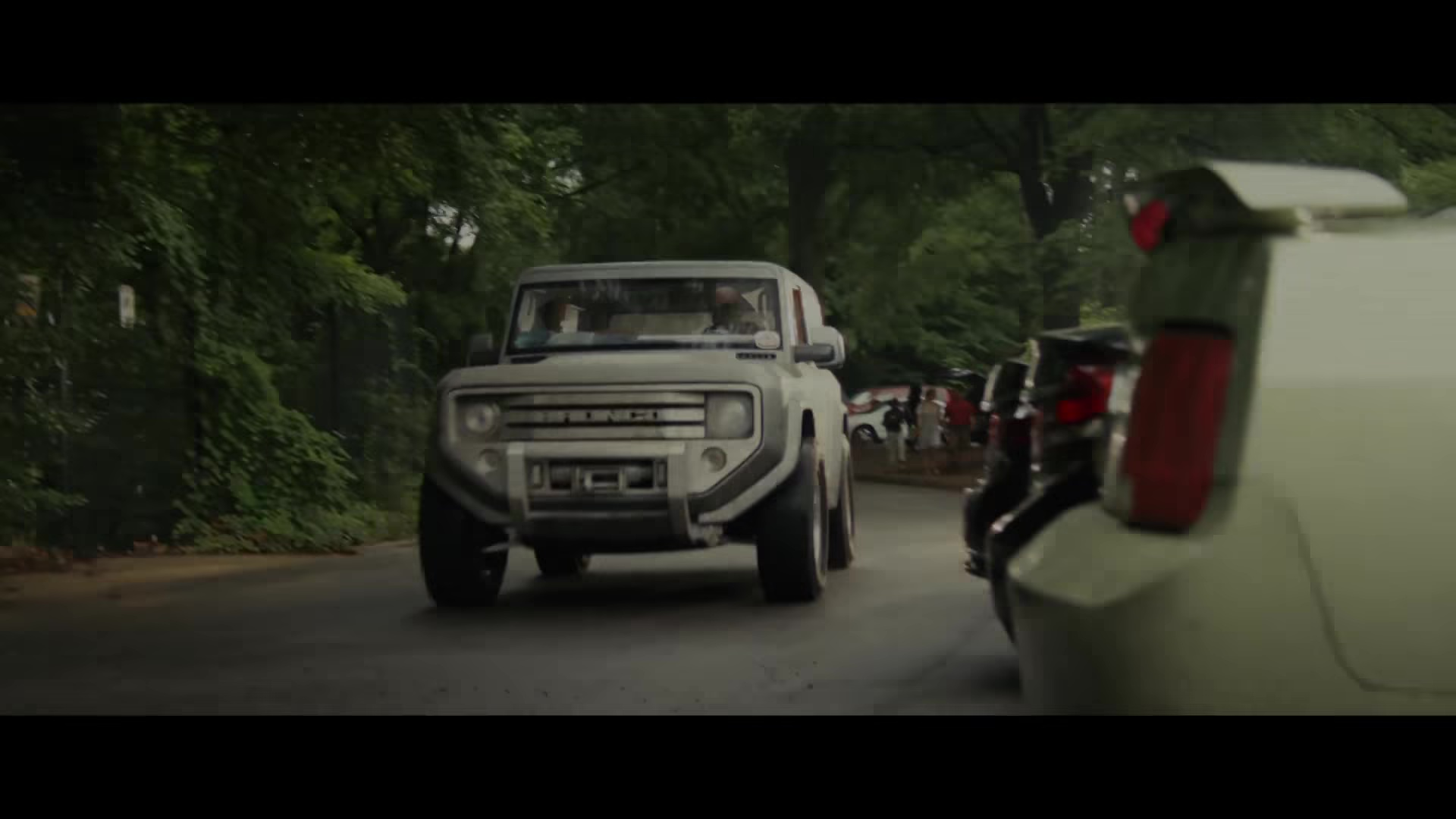 Ford Bronco Car Driven By Dwayne Johnson The Rock In Rampage 2018