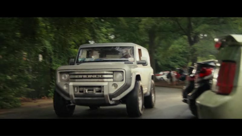 Ford Bronco Car in Rampage (2018) Movie Product Placement