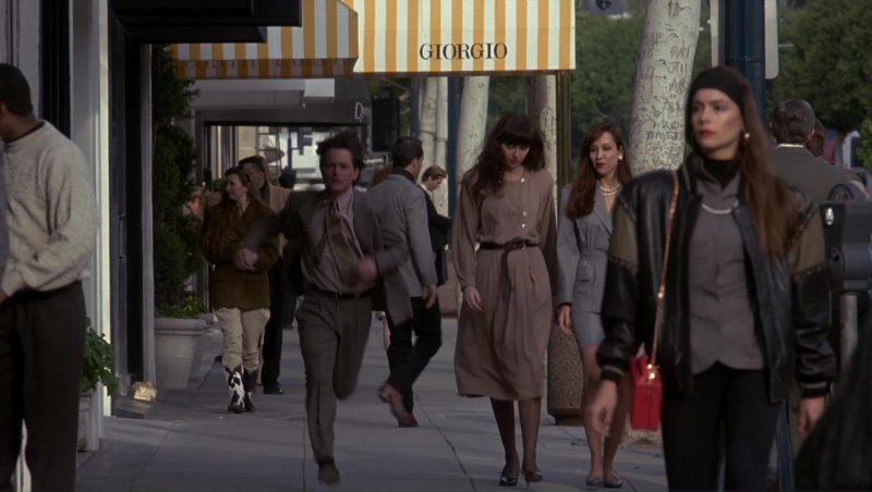 Giorgio Armani Store in Doc Hollywood (1991) - Movie Product Placement