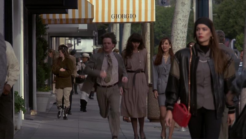 Giorgio Armani Store in Doc Hollywood (1991) Movie Product Placement
