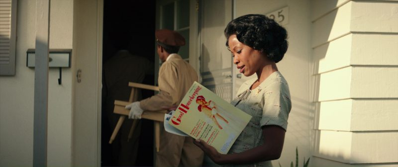 Good Housekeeping Magazine and Karimah Westbrook in Suburbicon (2017) Movie Product Placement