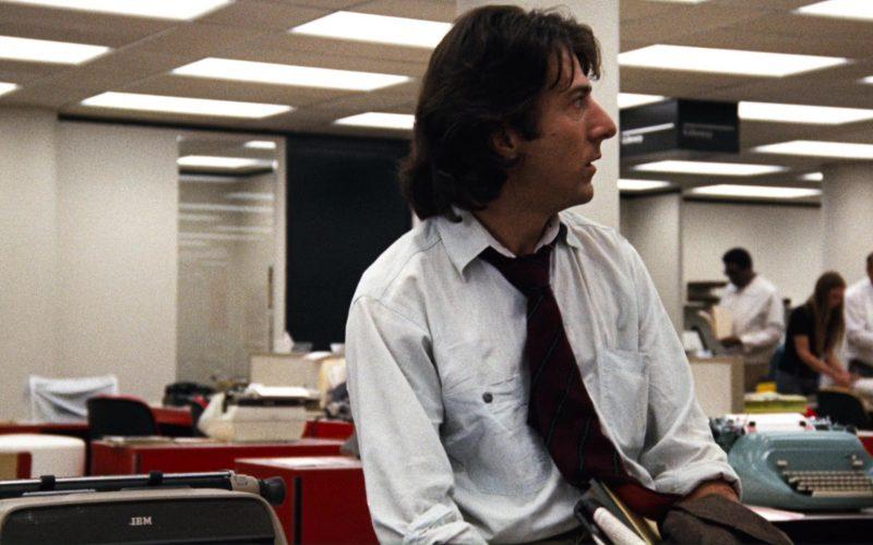 IBM Typewriters in All the President's Men (1)