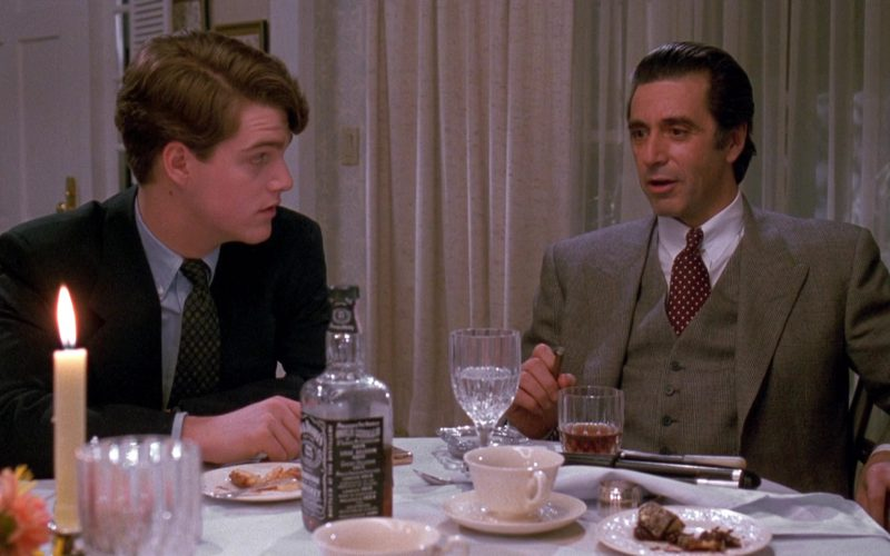 Jack Daniel's (Chris O'Donnell and Al Pacino) in Scent of a Woman (1)