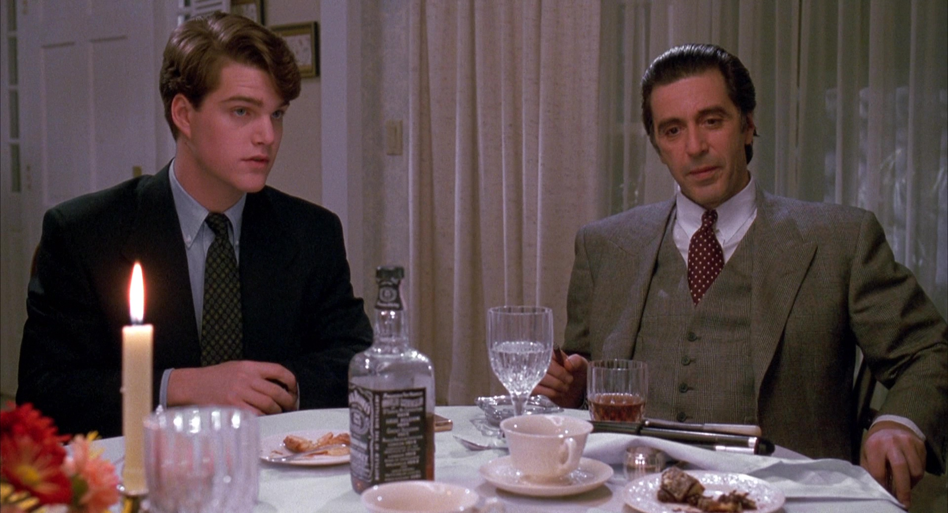 Jack Daniel S Whiskey Chris O Donnell And Al Pacino In Scent Of A Woman 1992