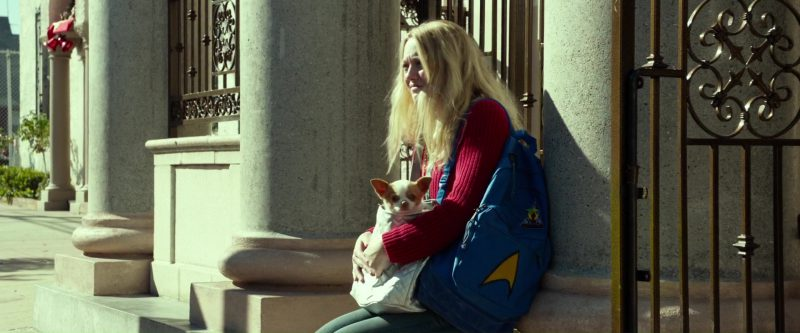 JanSport Backpack Used by Dakota Fanning in Please Stand By (2017) Movie Product Placement