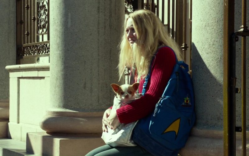 JanSport Backpack Used by Dakota Fanning in Please Stand By (5)