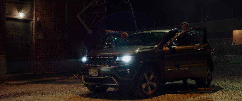 Jeep Grand Cherokee Driven by Matt Passmore in Jigsaw (2017) Movie Product Placement
