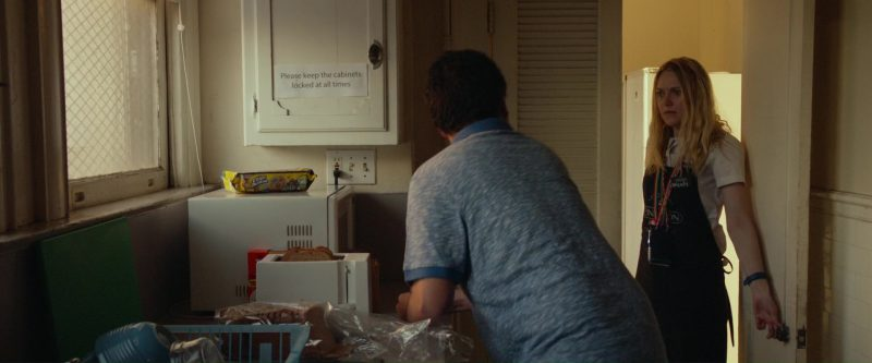 Keebler Chips Deluxe Rainbow Chocolate Chip Cookies With M&M's Chocolate Candies in Please Stand By (2017) Movie Product Placement