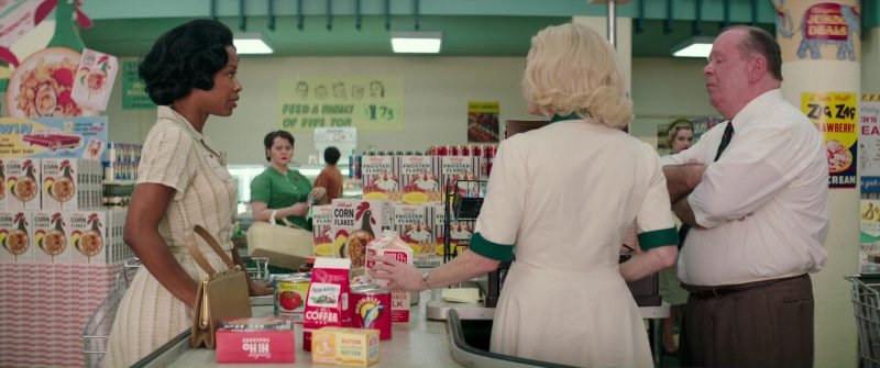 Kellogg's Corn Flakes and Frosted Flakes in Suburbicon (2017) - Movie Product Placement