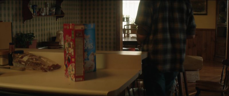 Kellogg's Rice Krispies and Kellogg's Froot Loops Cereals in Three Billboards Outside Ebbing, Missouri (2017) Movie Product Placement