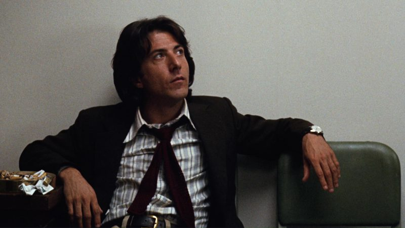 Kool Cigarettes and Dustin Hoffman in All the President's Men (1976) Movie Product Placement