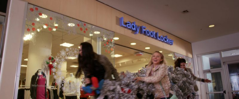 Lady Foot Locker Store in A Bad Moms Christmas (2017) - Movie Product Placement