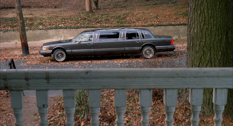 Lincoln Town Car Stretched Limousine Used by Chris O'Donnell and Al Pacino in Scent of a Woman (1992) Movie Product Placement