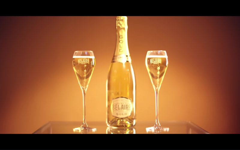 Luc Belaire Brut Gold Sparkling Wine in Melanin Magic (Pretty Brown) by Remy Ma ft. Chris Brown