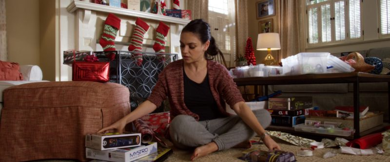 MYSTRO Electronic Musical Memory Game, Hasbro, Trivial Pursuit 90's Time Capsule Edition Board Game in A Bad Moms Christmas (2017) Movie Product Placement