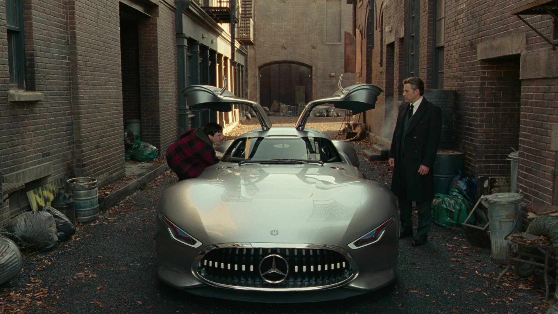 Mercedes Benz Amg Vision Car Used By Ben Affleck In Justice League 2017 Movie