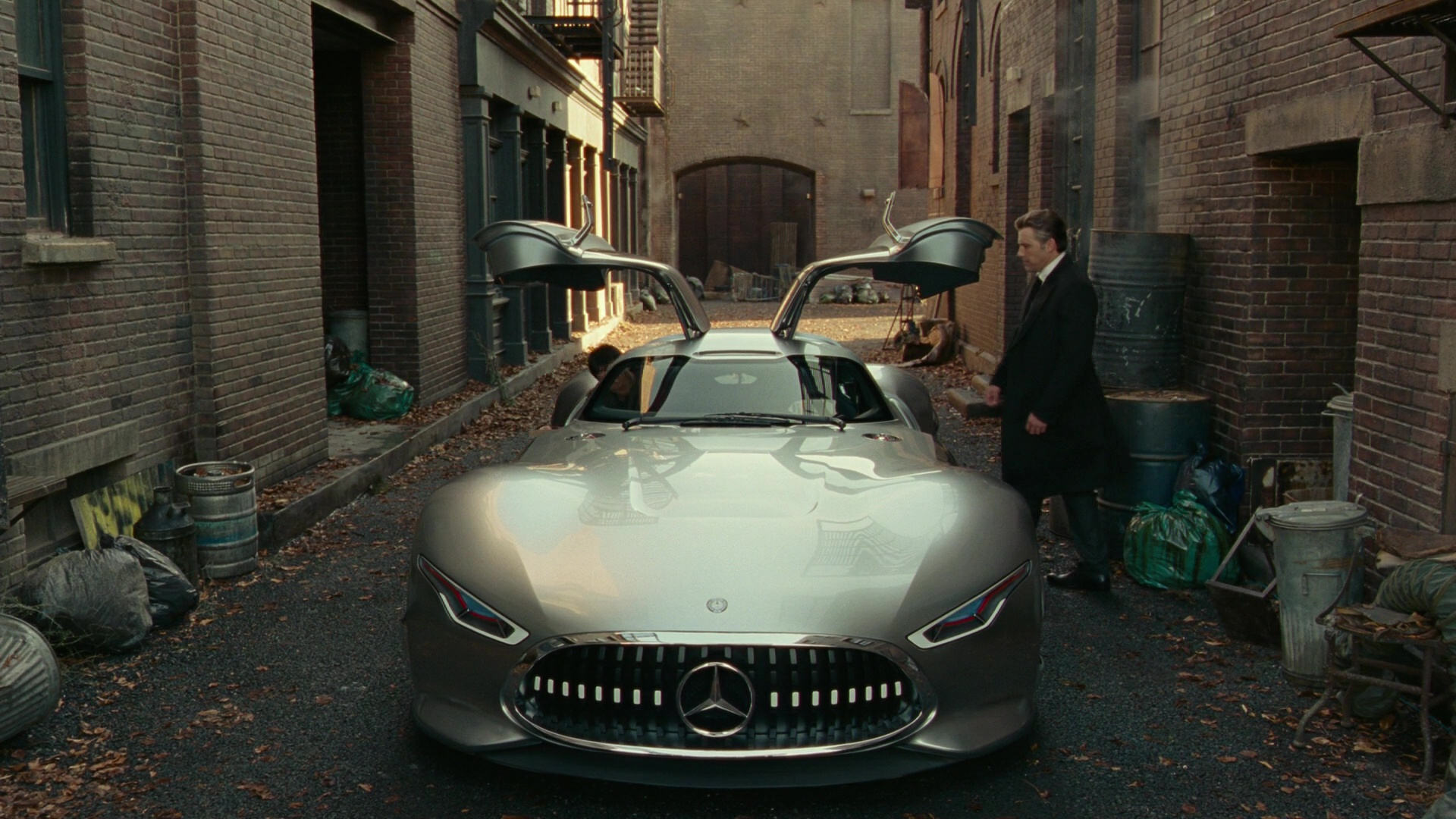 Mercedes Benz Amg Vision Car Used By Ben Affleck In