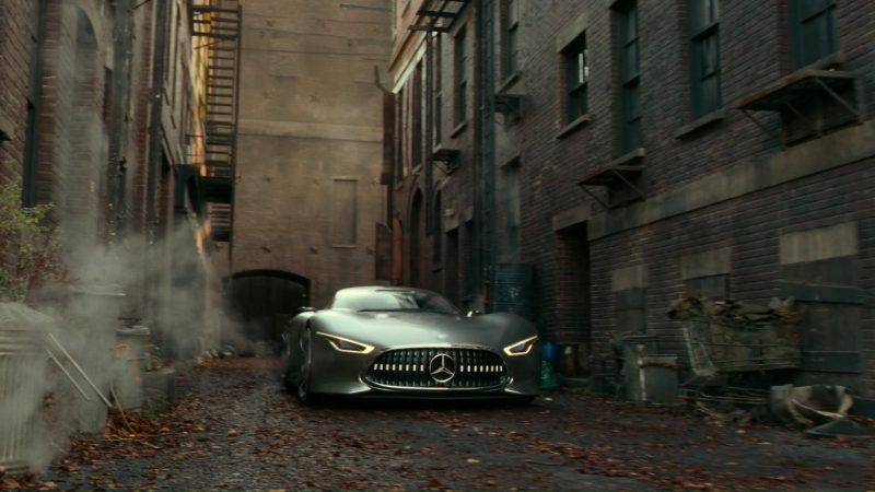 Mercedes-Benz AMG Vision Car Used by Ben Affleck in Justice League (2017) Movie Product Placement