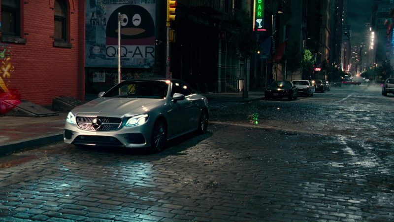 Mercedes-Benz E-Class Car Used by Gal Gadot in Justice League (2017) Movie Product Placement