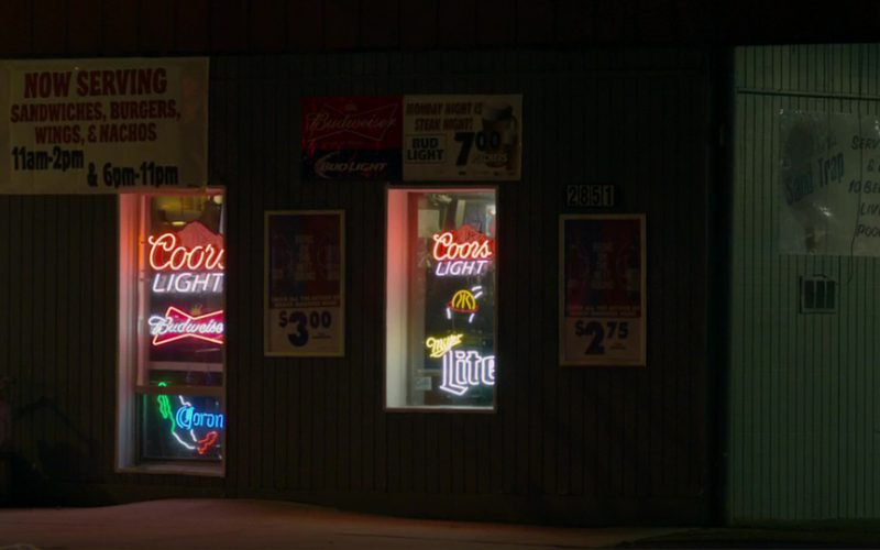 Miller Lite, Bud Light, Blue Moon, Coors Light, Budweiser and Corona Beer Neon Signs in Braven