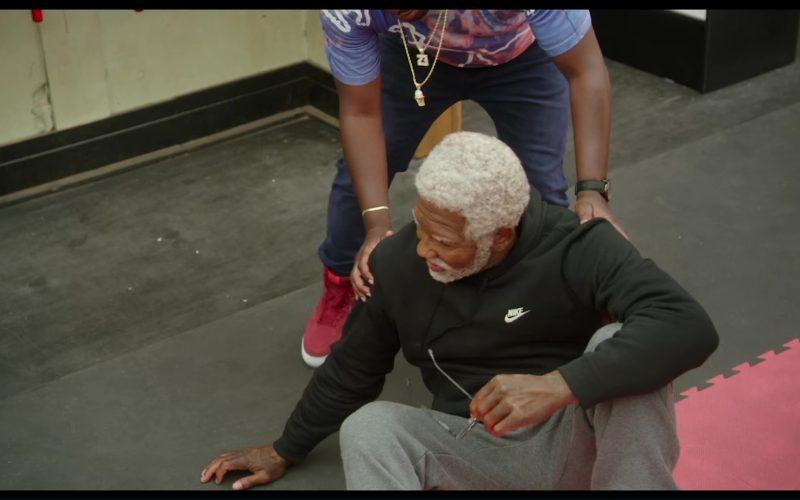Nike Black Hoodie Worn by Shaquille O'Neal in Uncle Drew