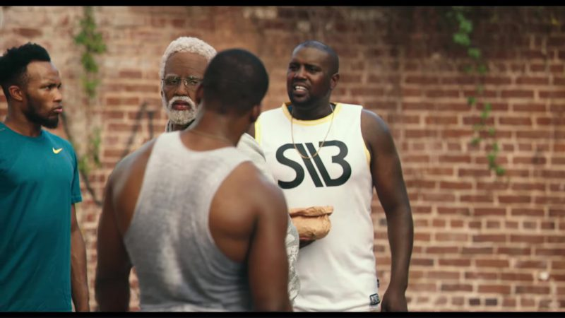 Nike Green Tee For Men in Uncle Drew (2018) Movie Product Placement