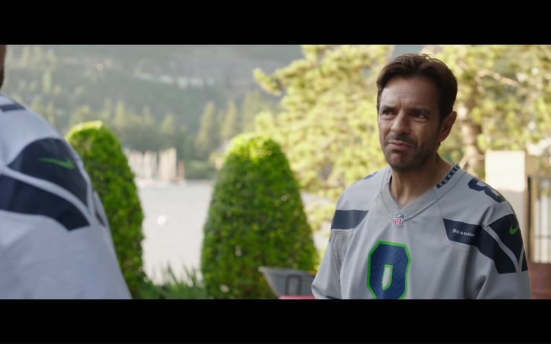 Nike Jersey T-Shirt (NFL and Seattle Seahawks) Worn by Eugenio Derbez in Overboard (1)