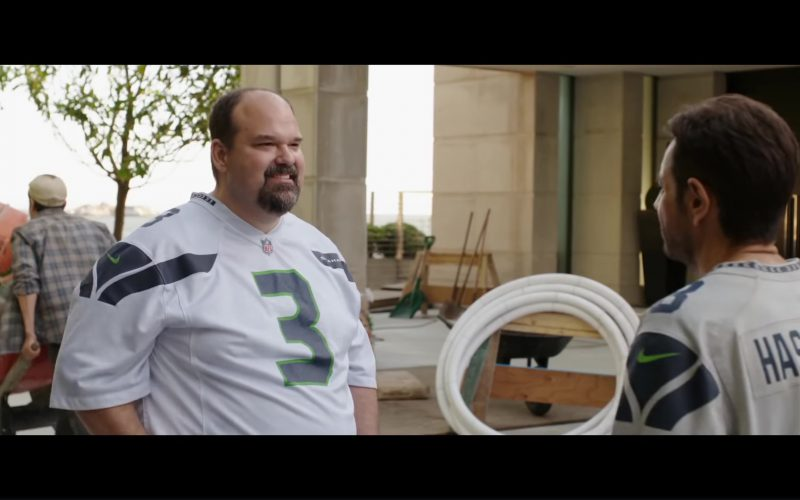 Nike Jersey T-Shirt (NFL and Seattle Seahawks) Worn by Mel Rodriguez in Overboard (1)