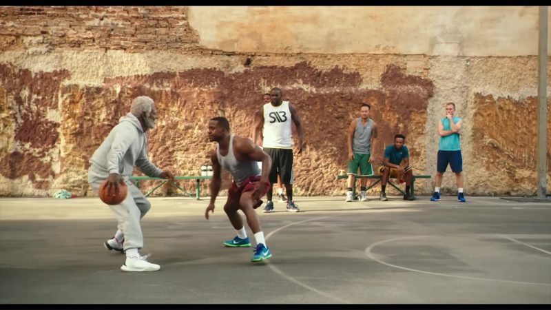 Nike Sneakers For Men (Blue) in Uncle Drew (2018) Movie Product Placement