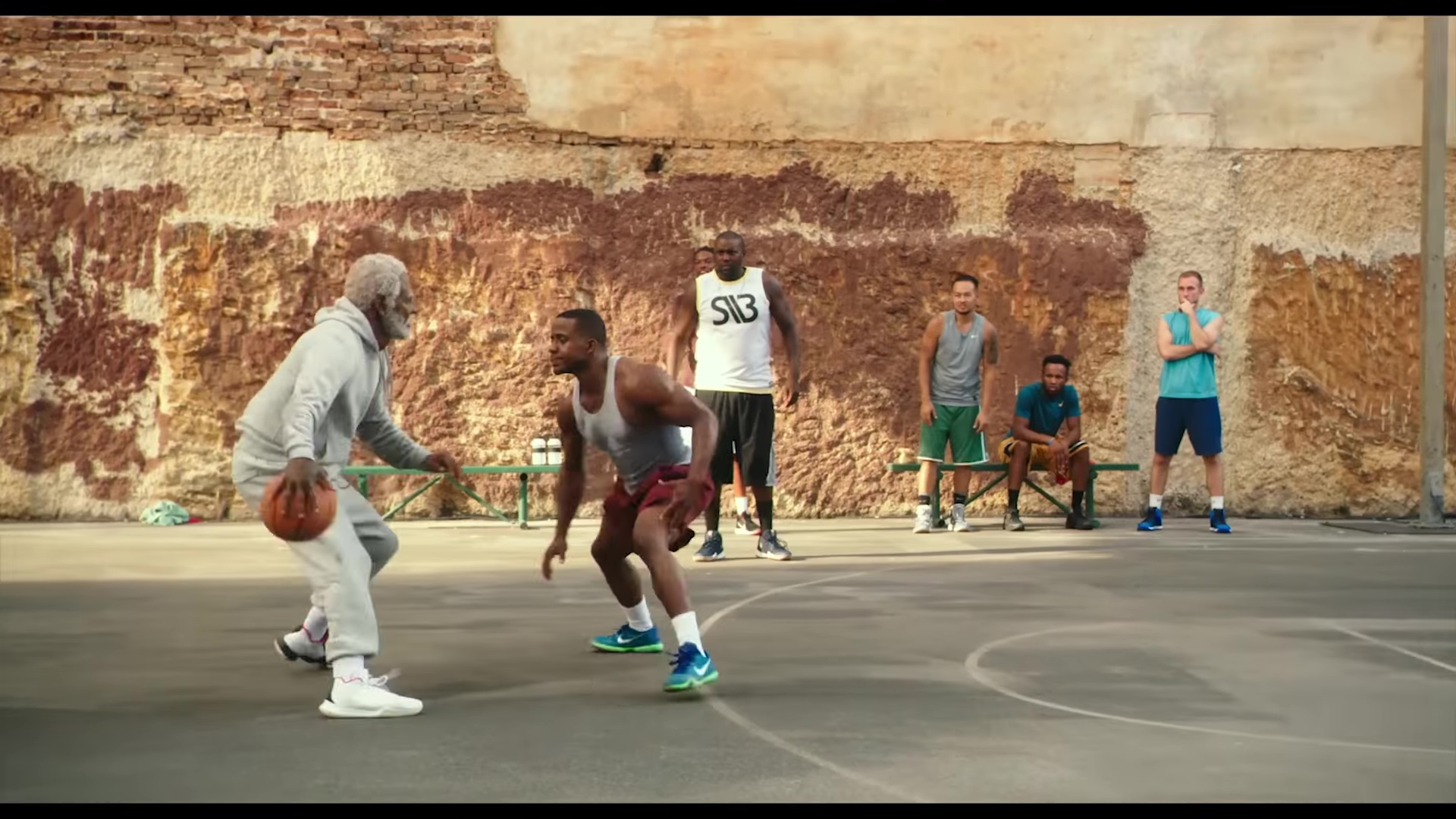the best attitude 7f371 2b3dc Nike Sneakers For Men (Blue) in Uncle Drew (2018) Movie