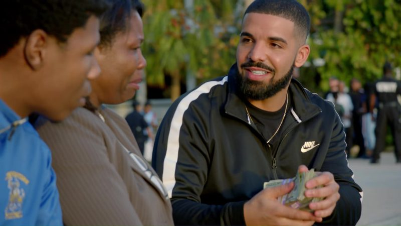 Nike Tracksuit Worn by Drake in God's Plan (2018) - Official Music Video Product Placement